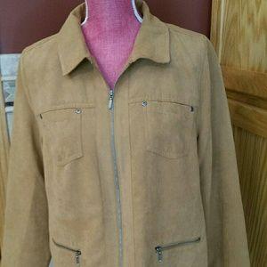 Zip up jacket - petite sz 12